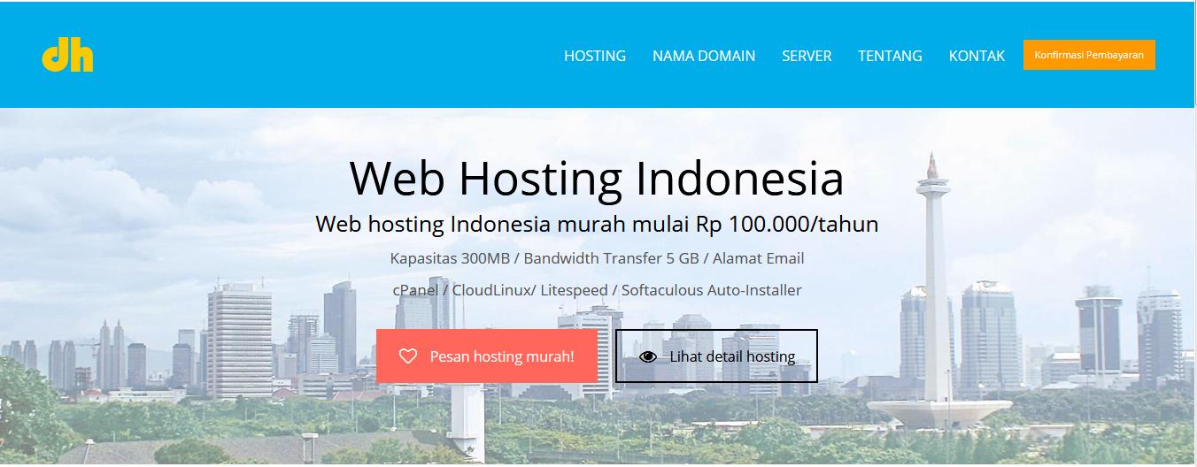 10 Web Hosting Terbaik di Indonesia Untuk Pemula dan Expert