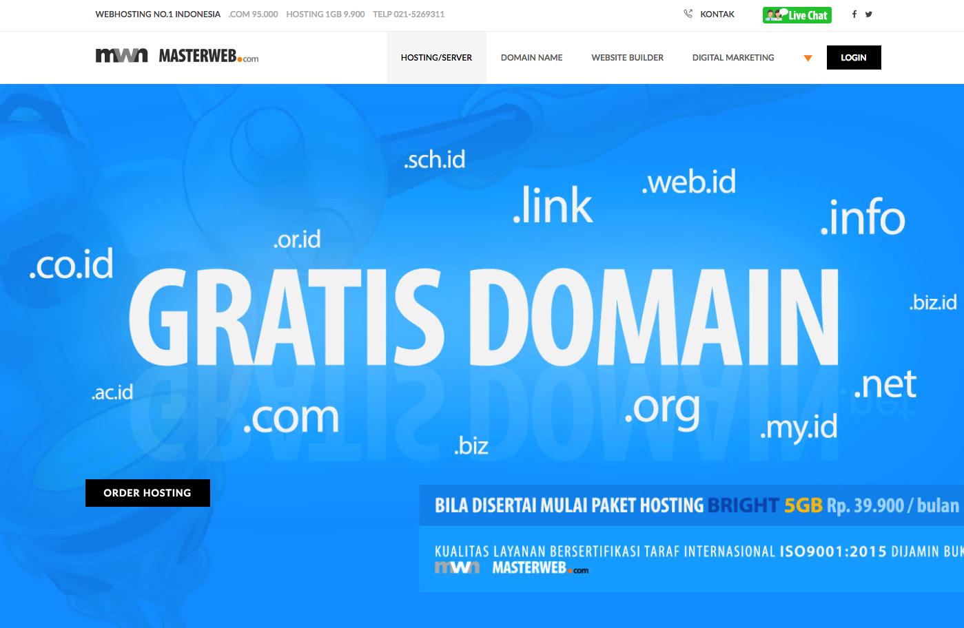 paket masterweb